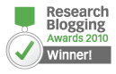 Research Blogging Awards 2010 Winner!